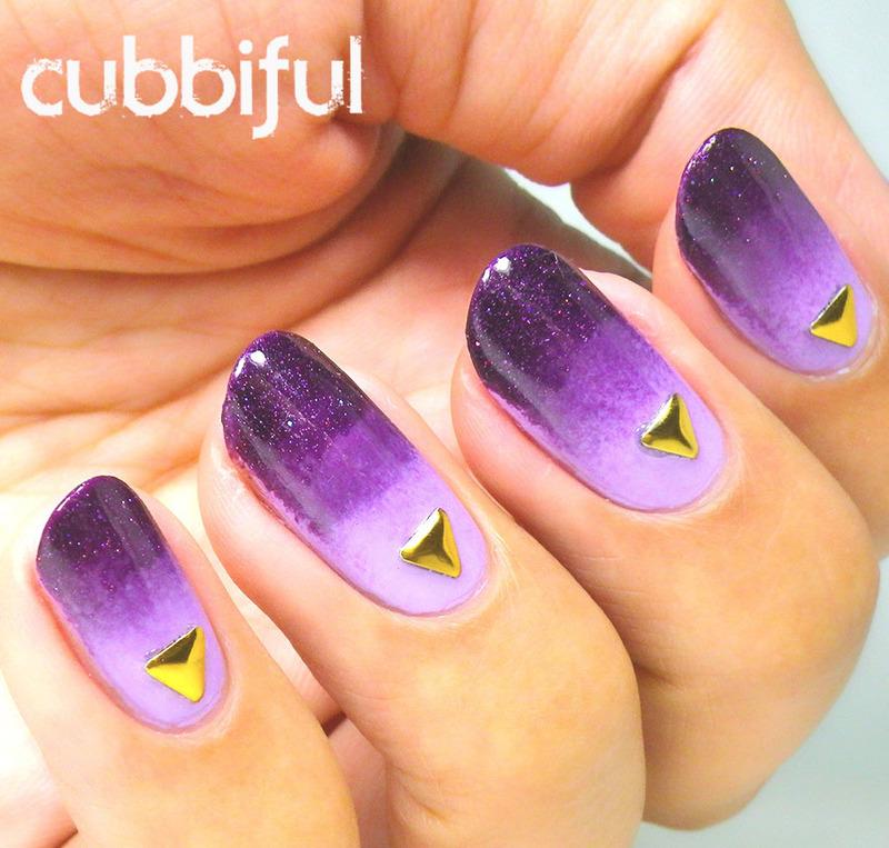 Purple Gradient Fail nail art by Cubbiful - Nailpolis: Museum of ...