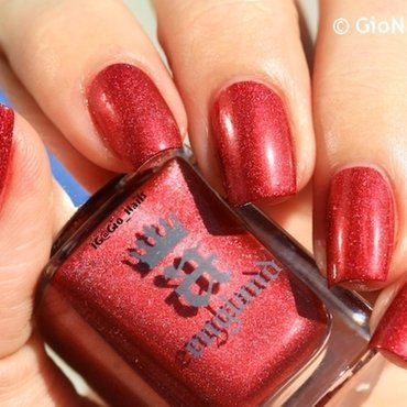 A England Rose Bower Swatch by Giovanna - GioNails