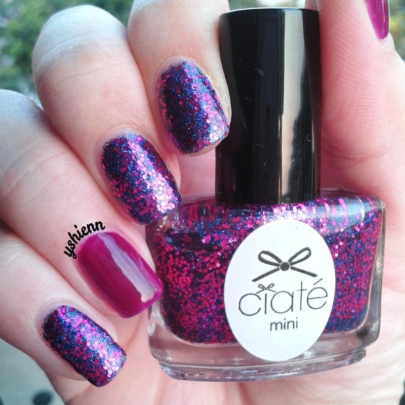 Ciate Bead Nails: Ciaté Wrap Star Swatch By Shien