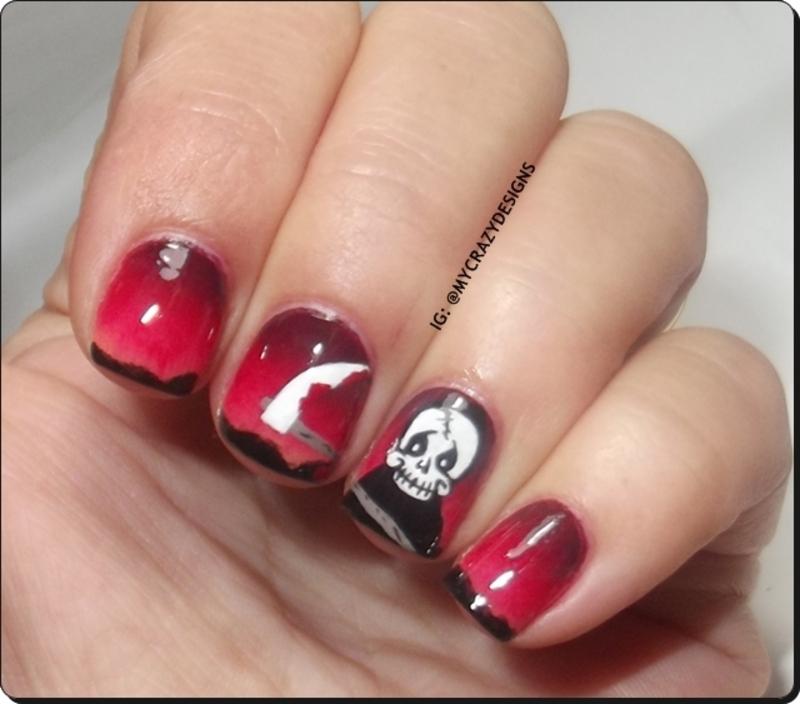 Halloween Nails II nail art by Mycrazydesigns