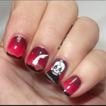 Halloween Nails II nail art by Mycrazydesigns