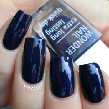 Isadora Blue Jeans Swatch by Ann-Kristin
