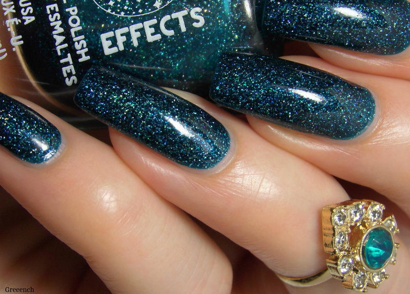 L.A. Girl Teal Dimension Swatch by greeench