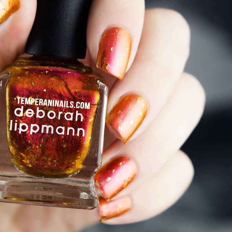 Deborah Lippmann Marrakesh Express Swatch by Temperani Nails