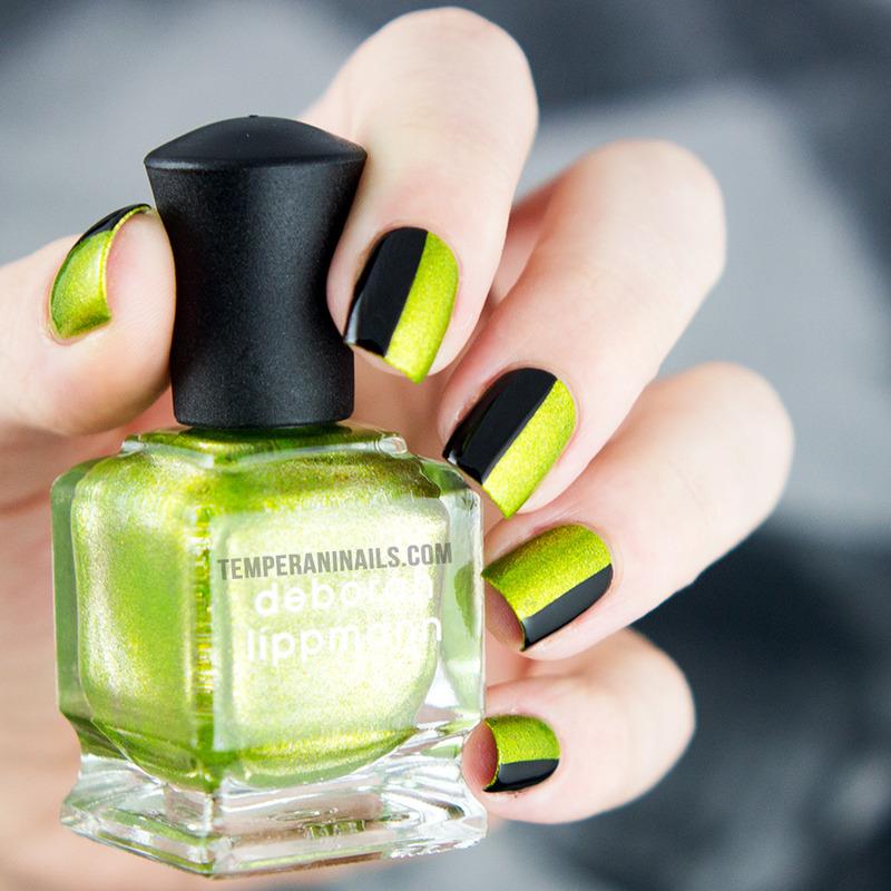 Weird Science nail art by Temperani Nails