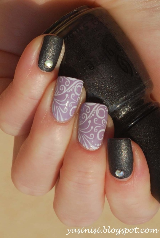 Pueen26 nail art by Yasinisi