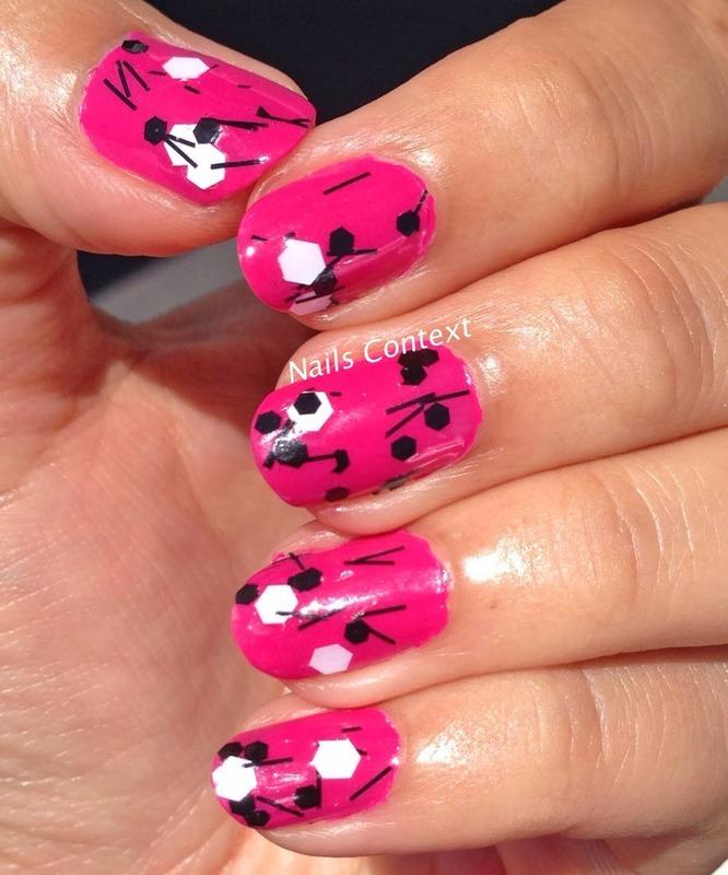 Whirled Away nail art by NailsContext