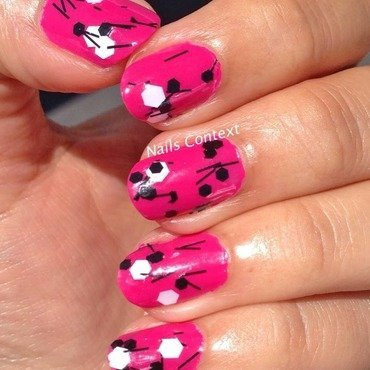 Whirled Away nail art by NailsContext