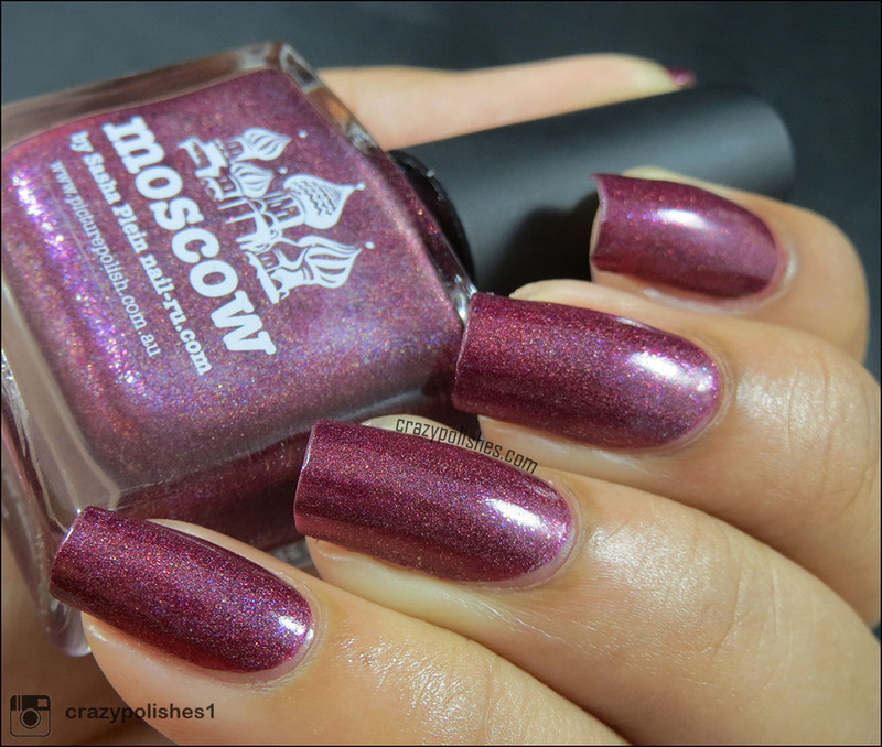 piCture pOlish Moscow Swatch by CrazyPolishes (Dimpal)