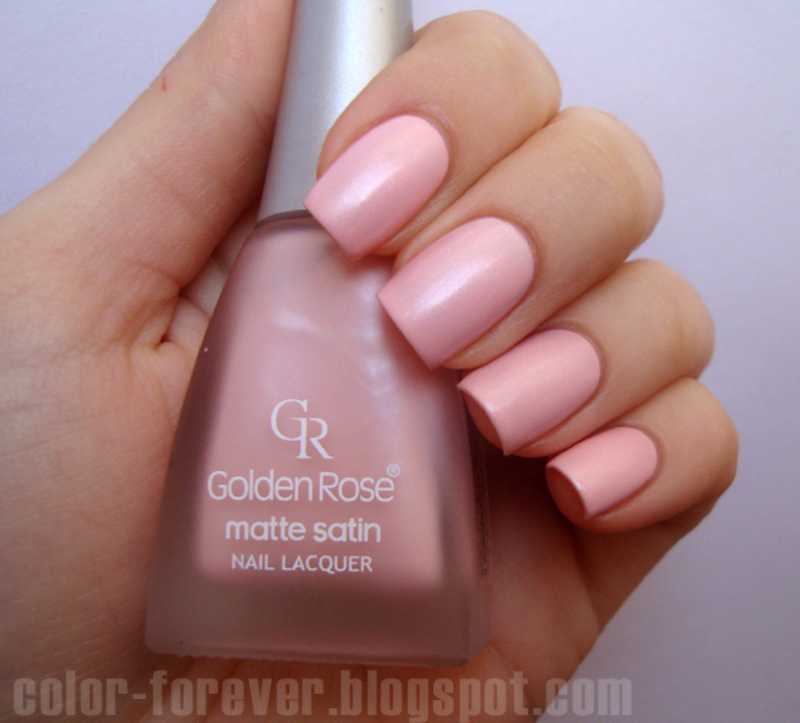 Golden Rose Matte Satin Nude 05 Swatch by ania