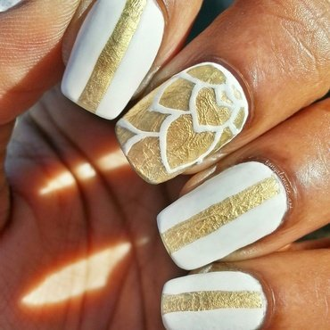 Fine China nail art by Tonya