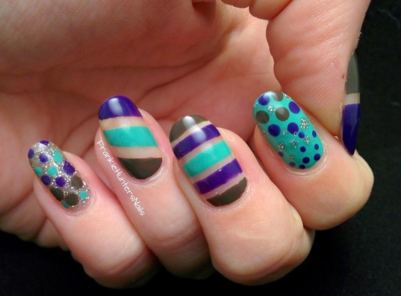 O.P.I. Nordic Collection Skittlette nail art by Franziska FrankieHuntersNails