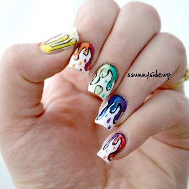 Another mani swap nail art by ssunnysideup (Sabrina)