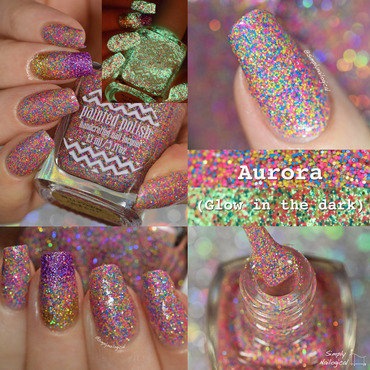 Paintedpolish aurora glowinthedark thumb370f