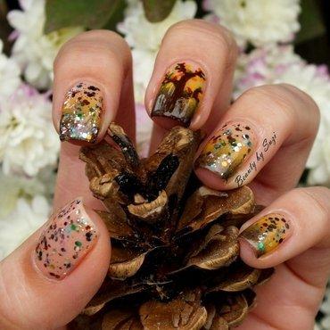 Fall Tree nail art by Suzi - Beauty by Suzi
