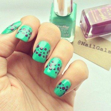 cute dotticure nail art by NailGals