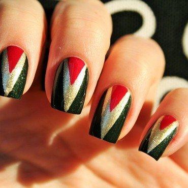 Nutcracker nail art by Jane