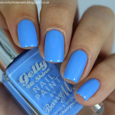 Barry M Blueberry Swatch by Vicky Standage