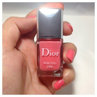 Dior Tutu Swatch by Dju Nails