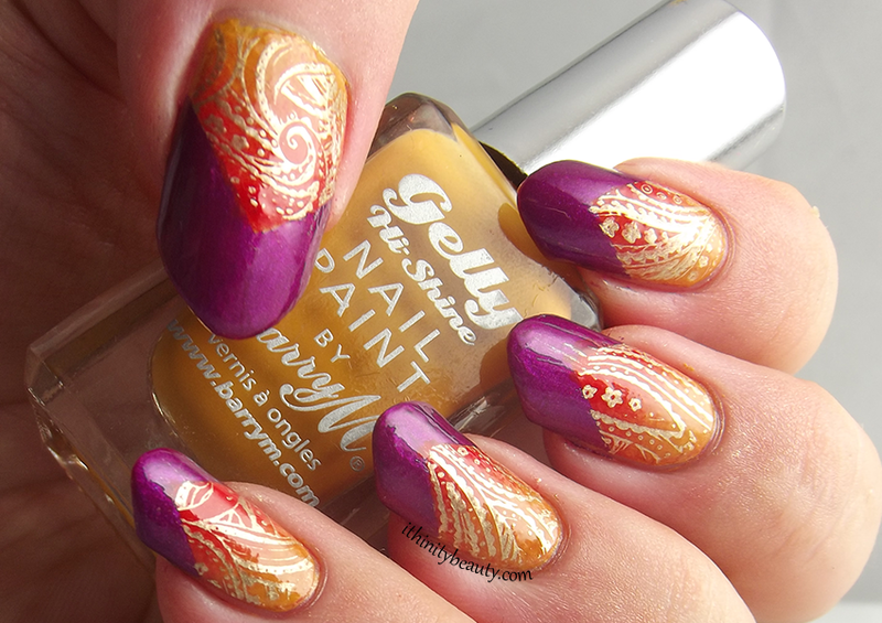 Indian Inspired nail art by Ithfifi Williams - Indian Inspired Nail Art By Ithfifi Williams - Nailpolis: Museum Of
