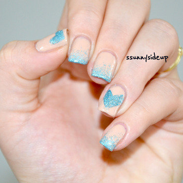 Glitter gradient #3 nail art by ssunnysideup (Sabrina)
