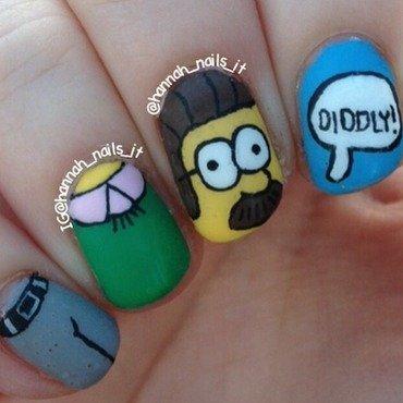 Flanders Fingertips nail art by Hannah