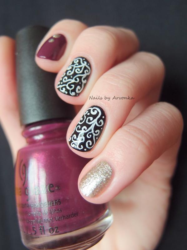 Skittle Manicure nail art by Veronika Sovcikova