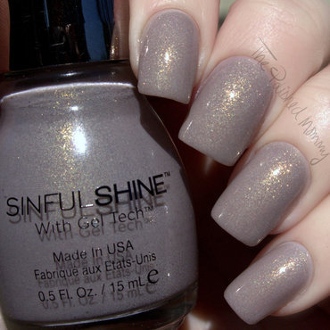 SinfulShine Prosecco Swatch by The Polished Mommy