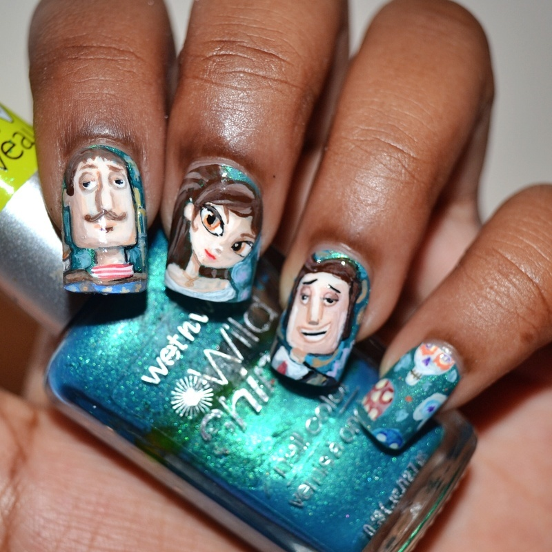The book of life nails nail art by tyler cannida nailpolis the book of life nails nail art by tyler cannida prinsesfo Image collections