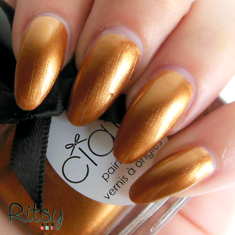 Ciaté Gold Digga Swatch by Ritsy NL