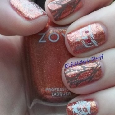 Stamping Sunday 11-09-2014 nail art by Jenette Maitland-Tomblin