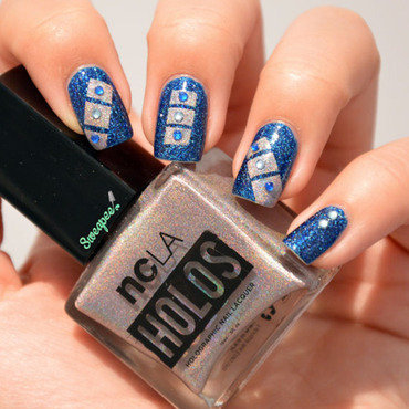 Blocs nails nail art by Sweapee