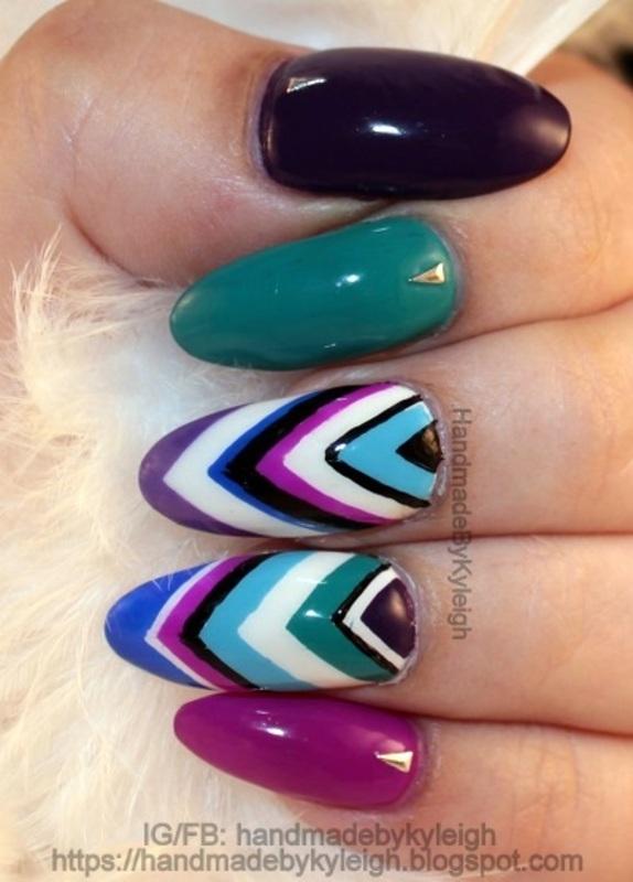 Brand New Undies nail art by  Kyleigh  'Handmade By Kyleigh'