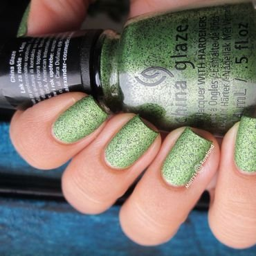 China Glaze But of Corpse Swatch by Marina