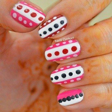 Valentino Nail Art nail art by NailsContext