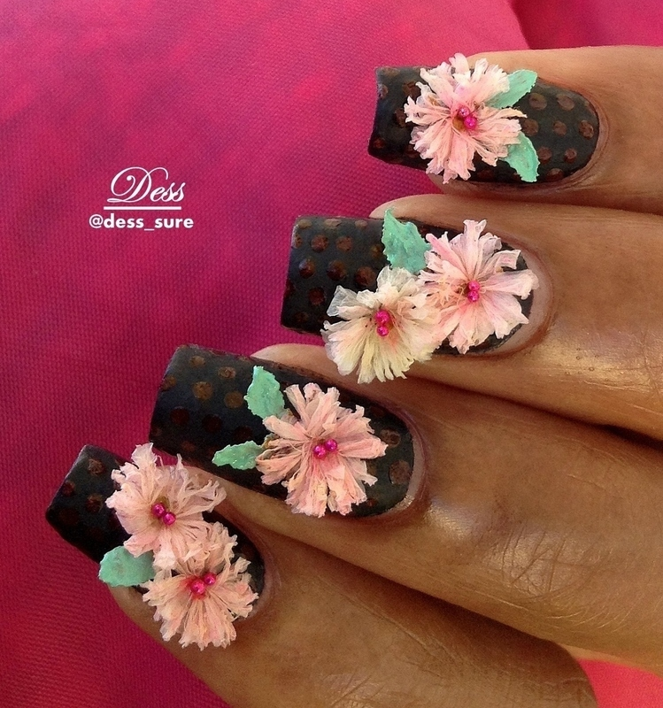 Petals nail art by Dess_sure