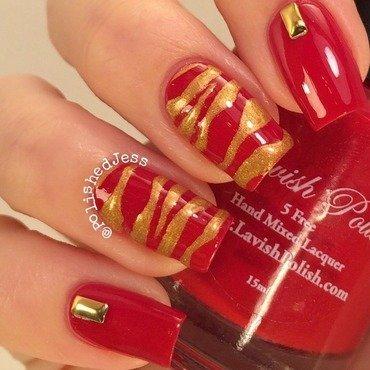 Zebra nail art by PolishedJess