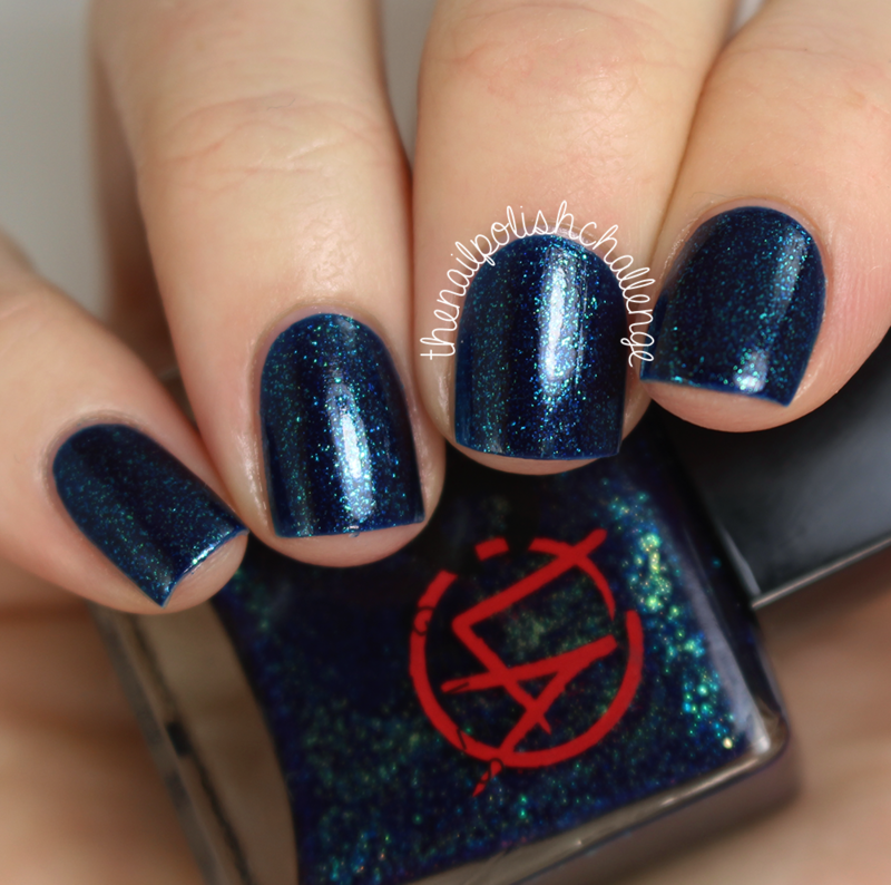 NCLA Lead Vocals, Me! Swatch by Kelli Dobrin