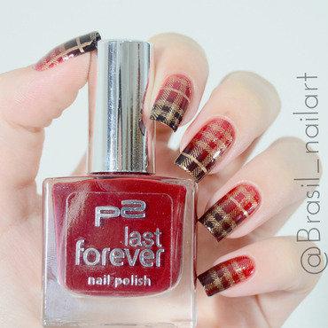 Xadrez nail art by Brasil_nailart
