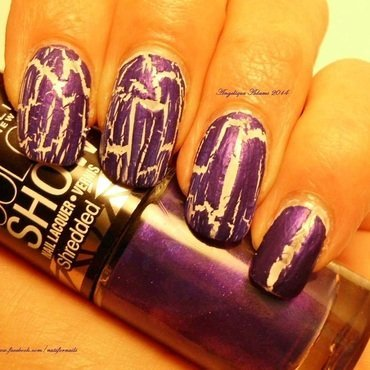Maybelline Color Show Shredded Purple Possibilities Swatch by Angelique Adams