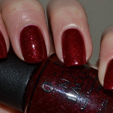 OPI Underneath The Misteltoe Swatch by Svetlana Tsad