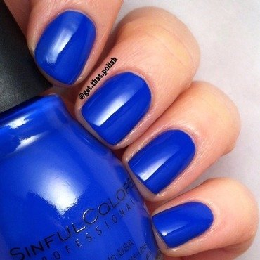 Sinfulcolors Endless Blue Swatch by Luciana