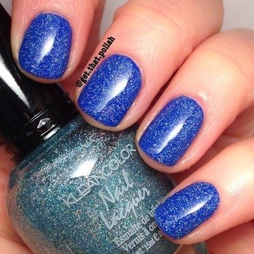 Kleancolor Holo Blue Swatch by Luciana
