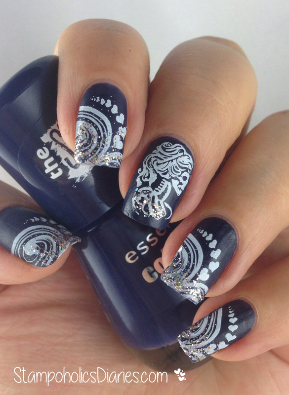 Essence I Love My Blue Jeans Bundle Monster Bm 612 Nail Art By