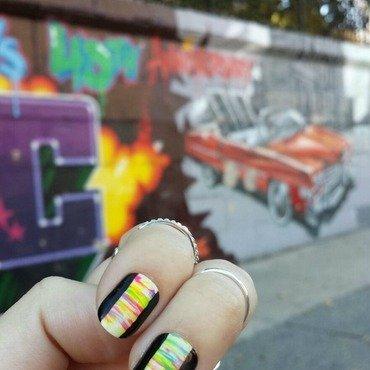 NailGals in NYC - Hip Hop Tour nail art by NailGals