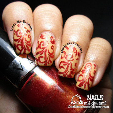 Stamping Nail Art Fail nail art by Kat of NailsMyDreams