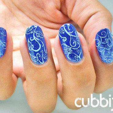 Arabesque leaves nails thumb370f