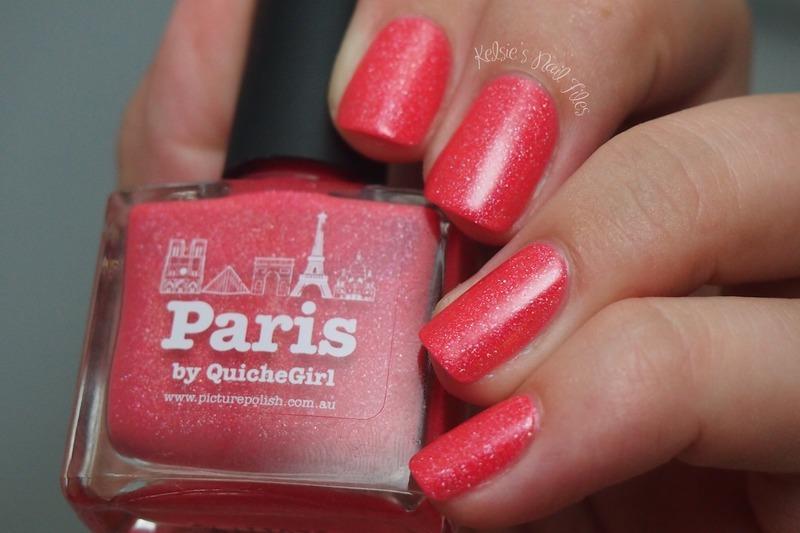piCture pOlish Paris Swatch by Kelsie