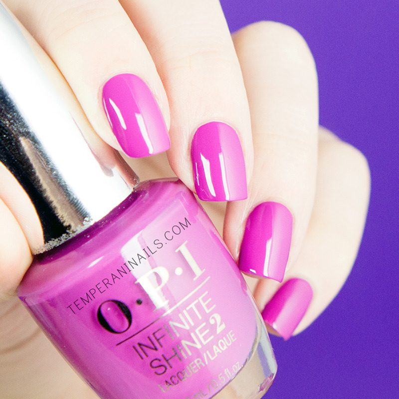 OPI Infinite Shine Graplely Admired Swatch by Temperani Nails
