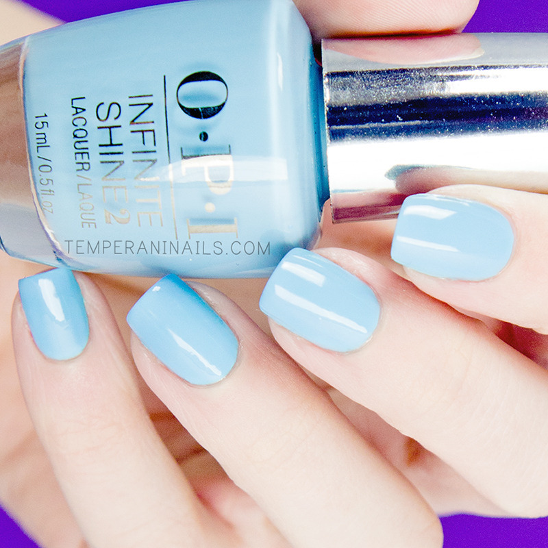 OPI Infinite Shine To Infinity & Blue-yond Swatch by Temperani Nails ...